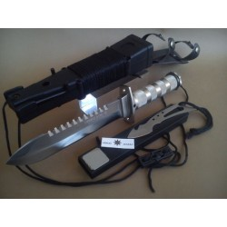 "CUCHILLO DE SUPERVIVENCIA ""COMBAT KING II"""