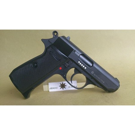 PISTOLA CO2,MOD.WALTHER PPK/S,CAL.4,5 M.M.,BB ACERO