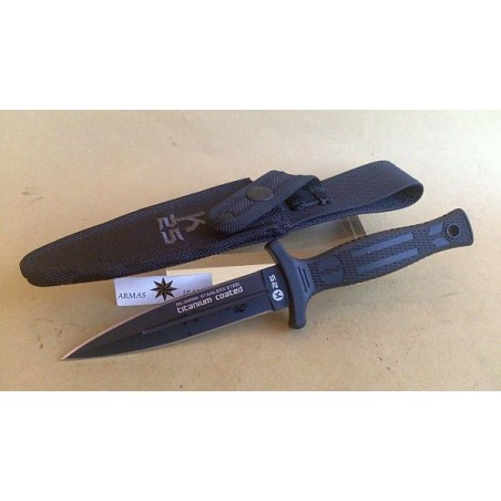 TACTICAL BOOT KNIFE RUI,FLAT BLADE