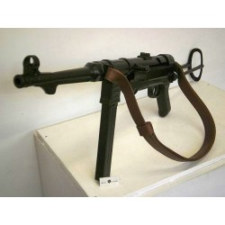 MP40 WITH LEATHER SLING,DENIX REPLICA