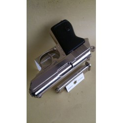 WALTHER PPK,NICKEL ,DENIX REPLICA