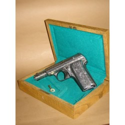 """(WEAPON SOLD)ENGRAVED SEMIAUTOMATIC PISTOL,ENGRAVED """"ASTRA 300"""""""