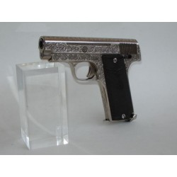 """(WEAPON SOLD)ENGRAVED """"SINGER"""" PISTOL,32 ACP"""