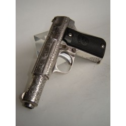 """(WEAPON SOLD)ENGRAVED SEMIAUTOMATIC PISTOL,ENGRAVED """"ASTRA 3000"""""""
